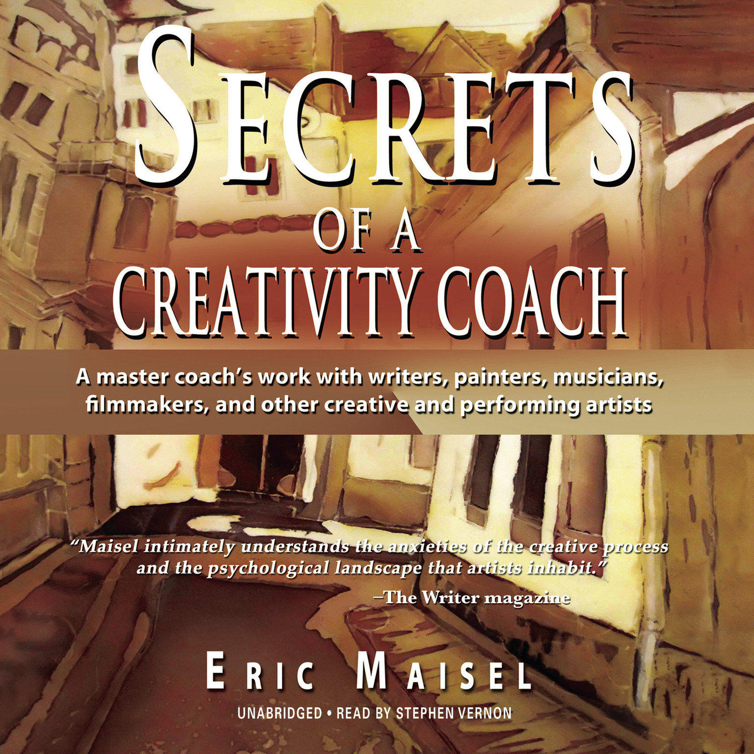 Printable Secrets of a Creativity Coach Audiobook Cover Art