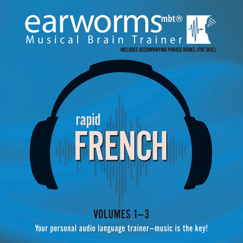 Printable Rapid French, Vols. 1–3 Audiobook Cover Art