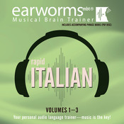 Rapid Italian, Vols. 1–3, by Earworms Learning