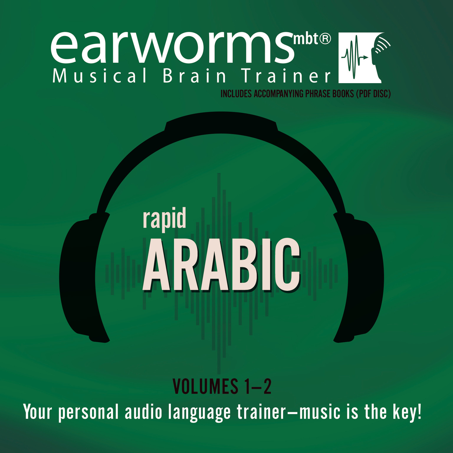 Printable Rapid Arabic, Vols. 1 & 2 Audiobook Cover Art