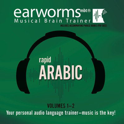 Rapid Arabic, Vols. 1 & 2 Audiobook, by Earworms Learning
