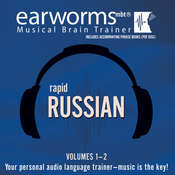 Rapid Russian, Vols. 1 & 2 Audiobook, by Earworms Learning