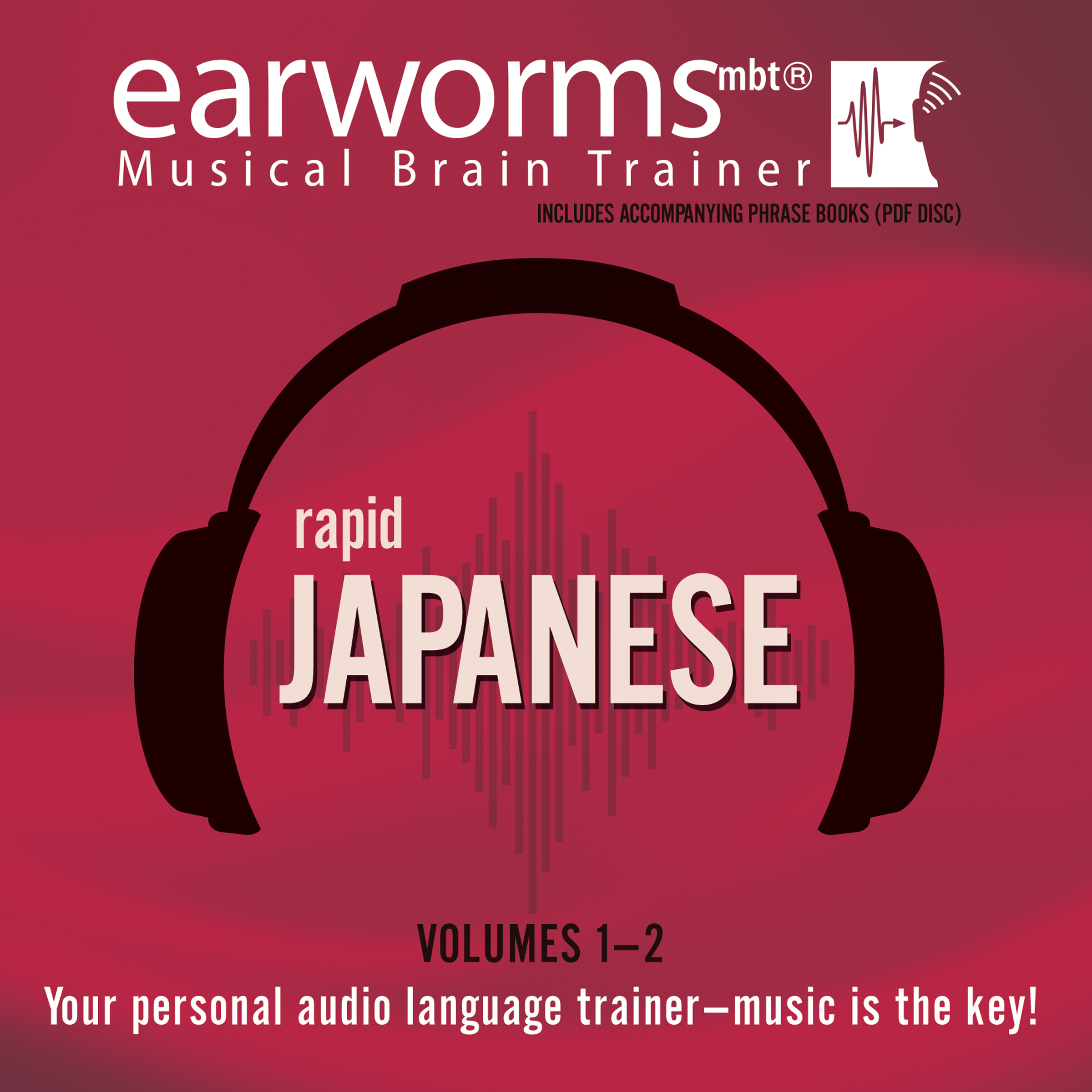 Printable Rapid Japanese, Vols. 1 & 2 Audiobook Cover Art