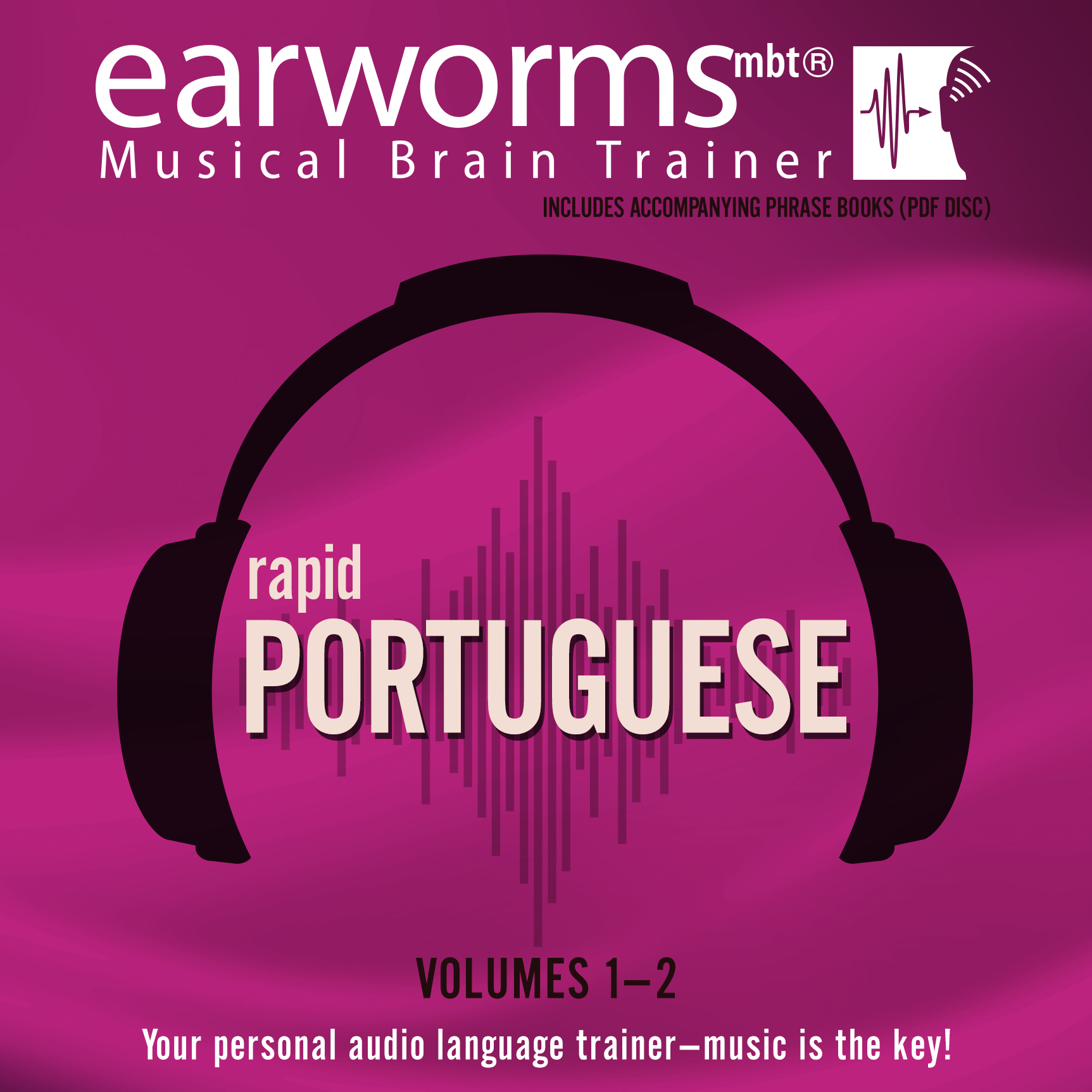 Printable Rapid Portuguese, Vols. 1 & 2 Audiobook Cover Art