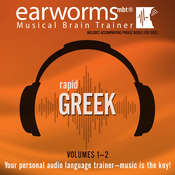 Rapid Greek, Vols. 1 & 2, by Earworms Learning