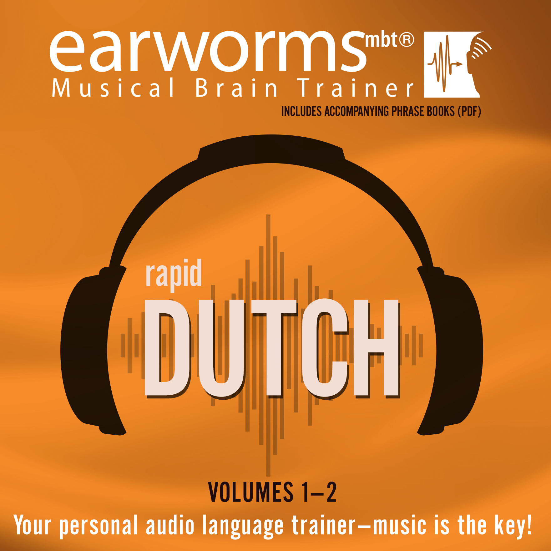 Printable Rapid Dutch, Vols. 1 & 2 Audiobook Cover Art
