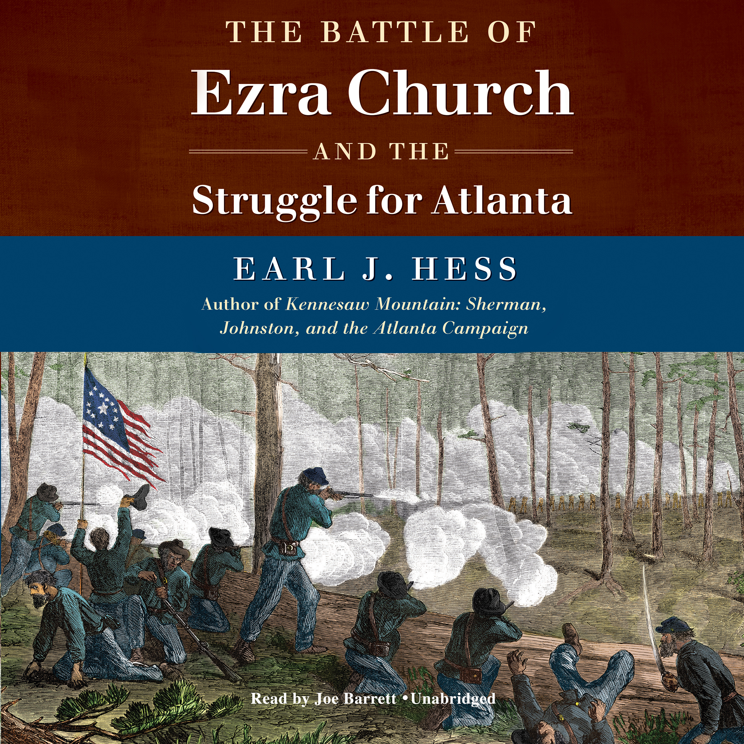 Printable The Battle of Ezra Church and the Struggle for Atlanta Audiobook Cover Art