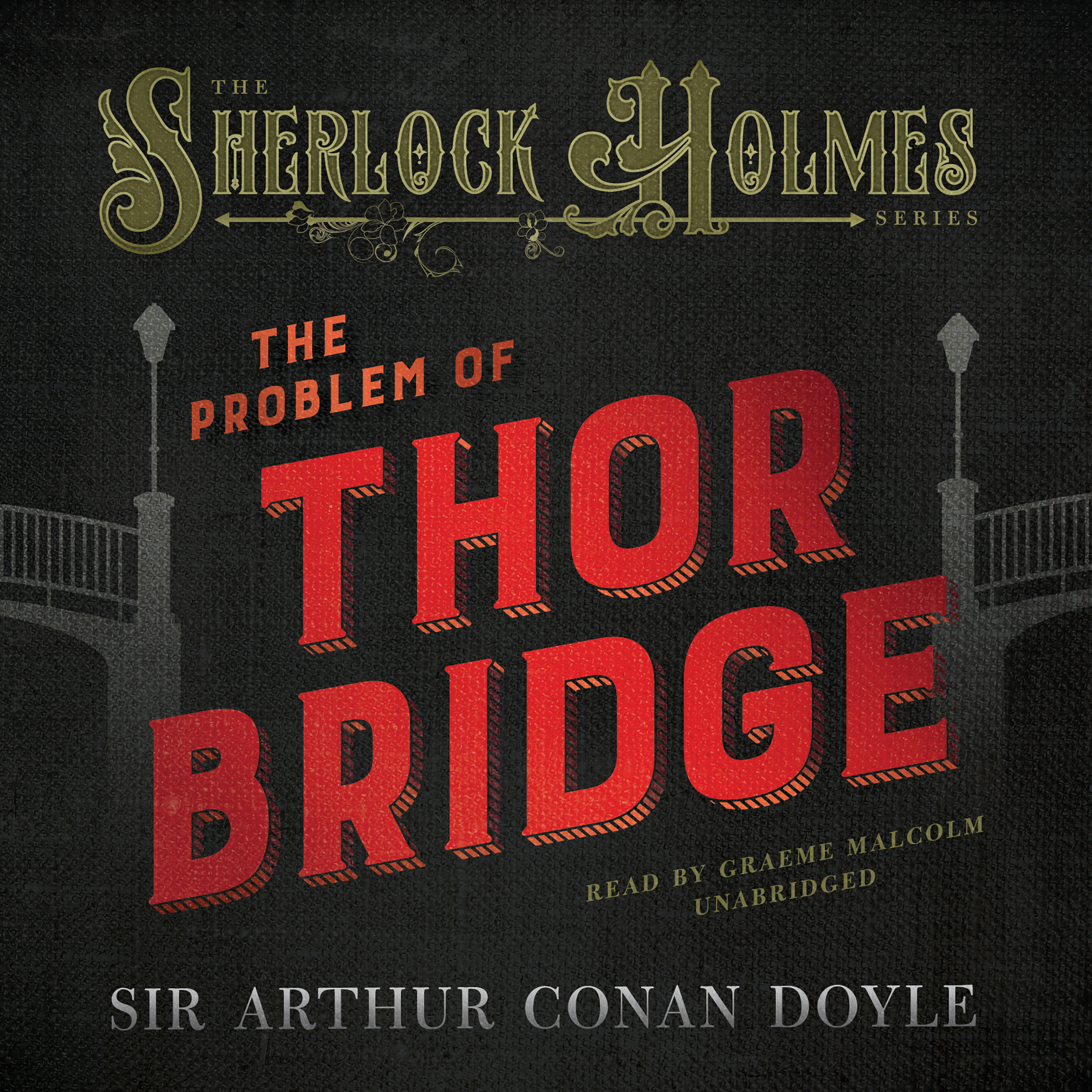 Printable The Problem of Thor Bridge Audiobook Cover Art