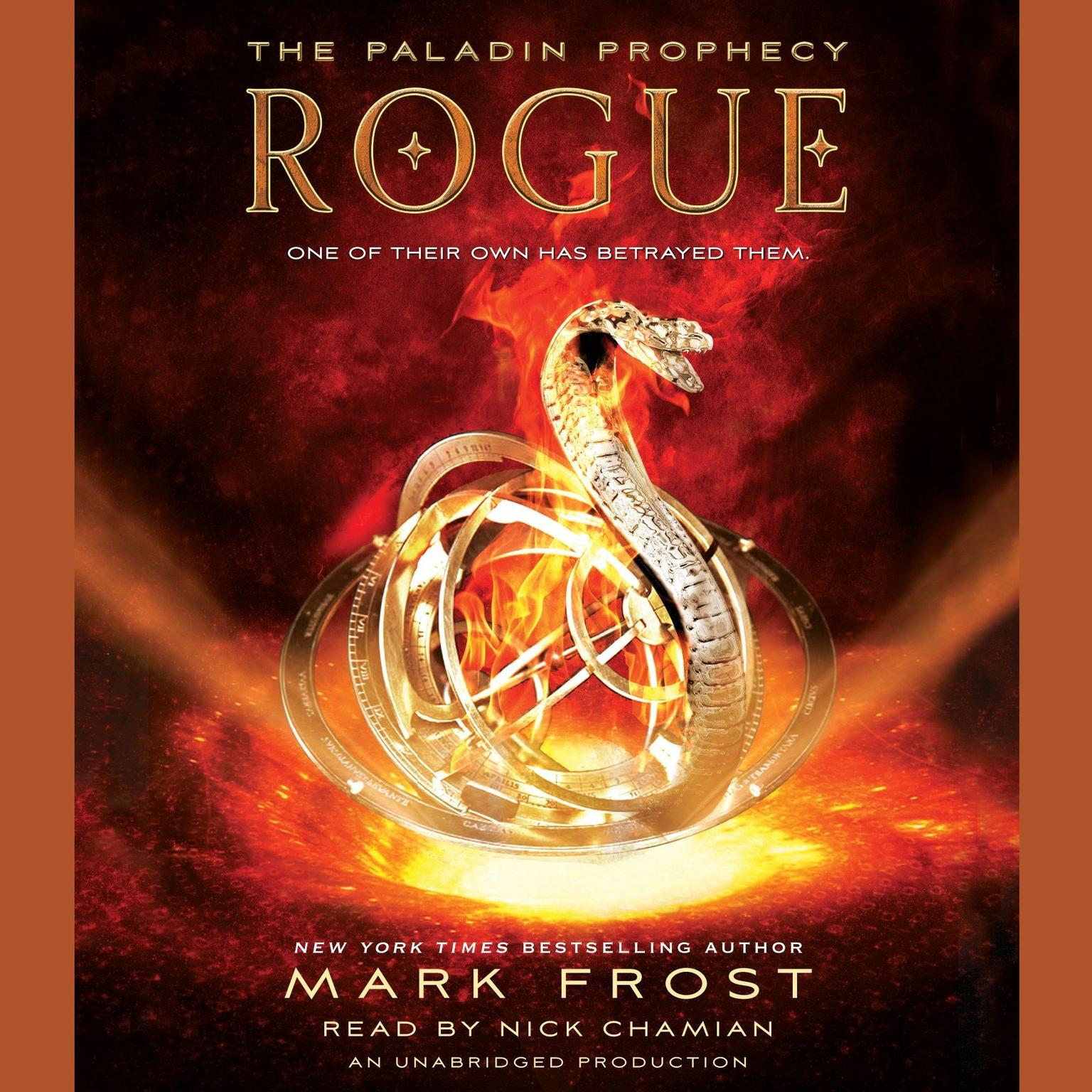 Printable Rogue: The Paladin Prophecy Book 3 Audiobook Cover Art