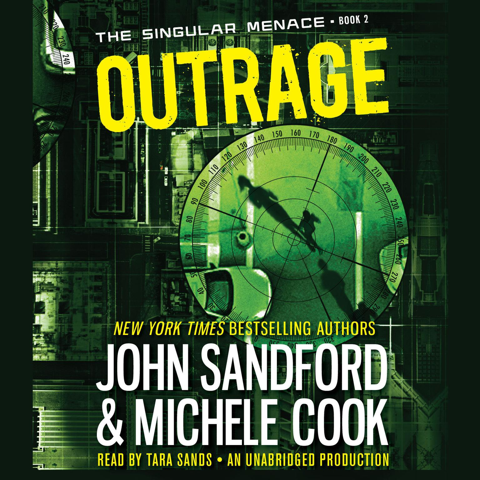 Printable Outrage  Audiobook Cover Art