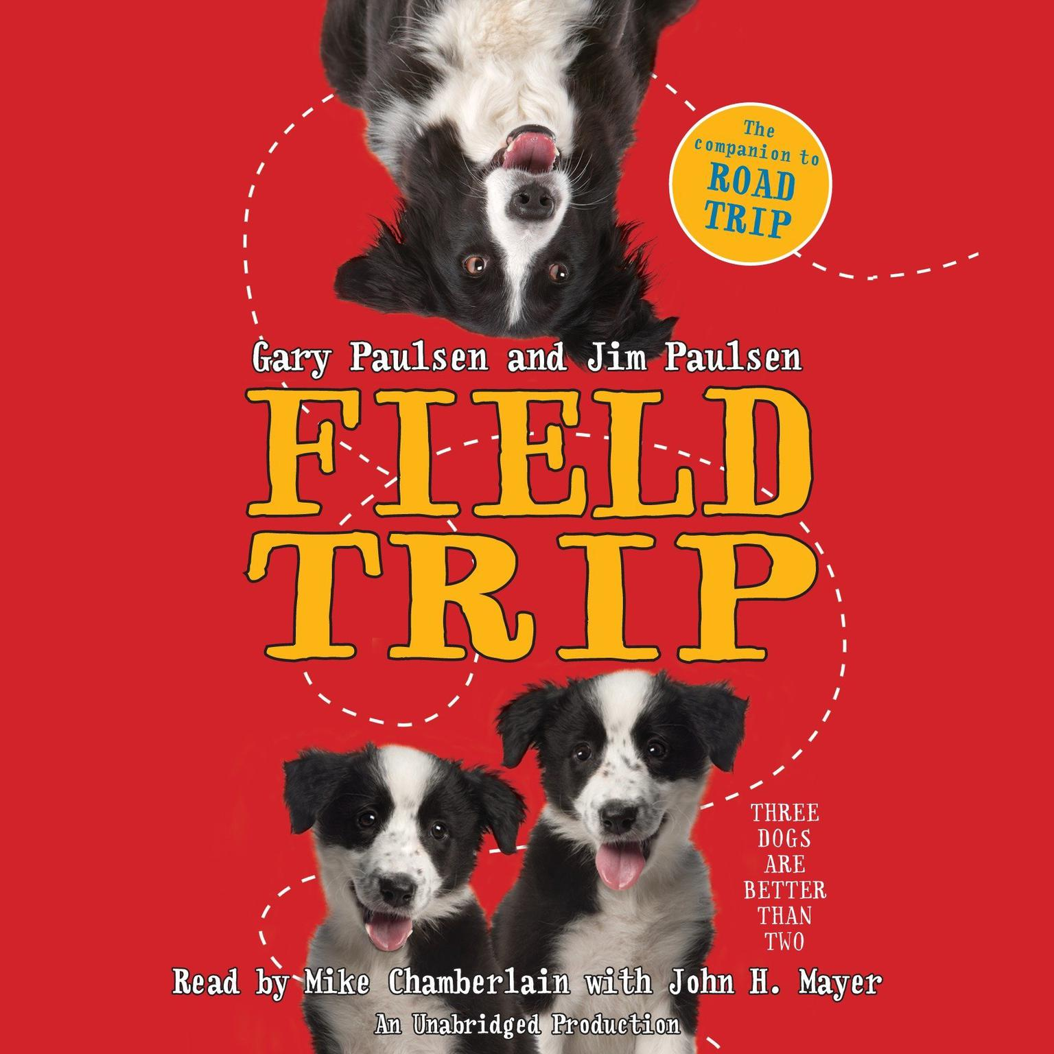 Printable Field Trip Audiobook Cover Art