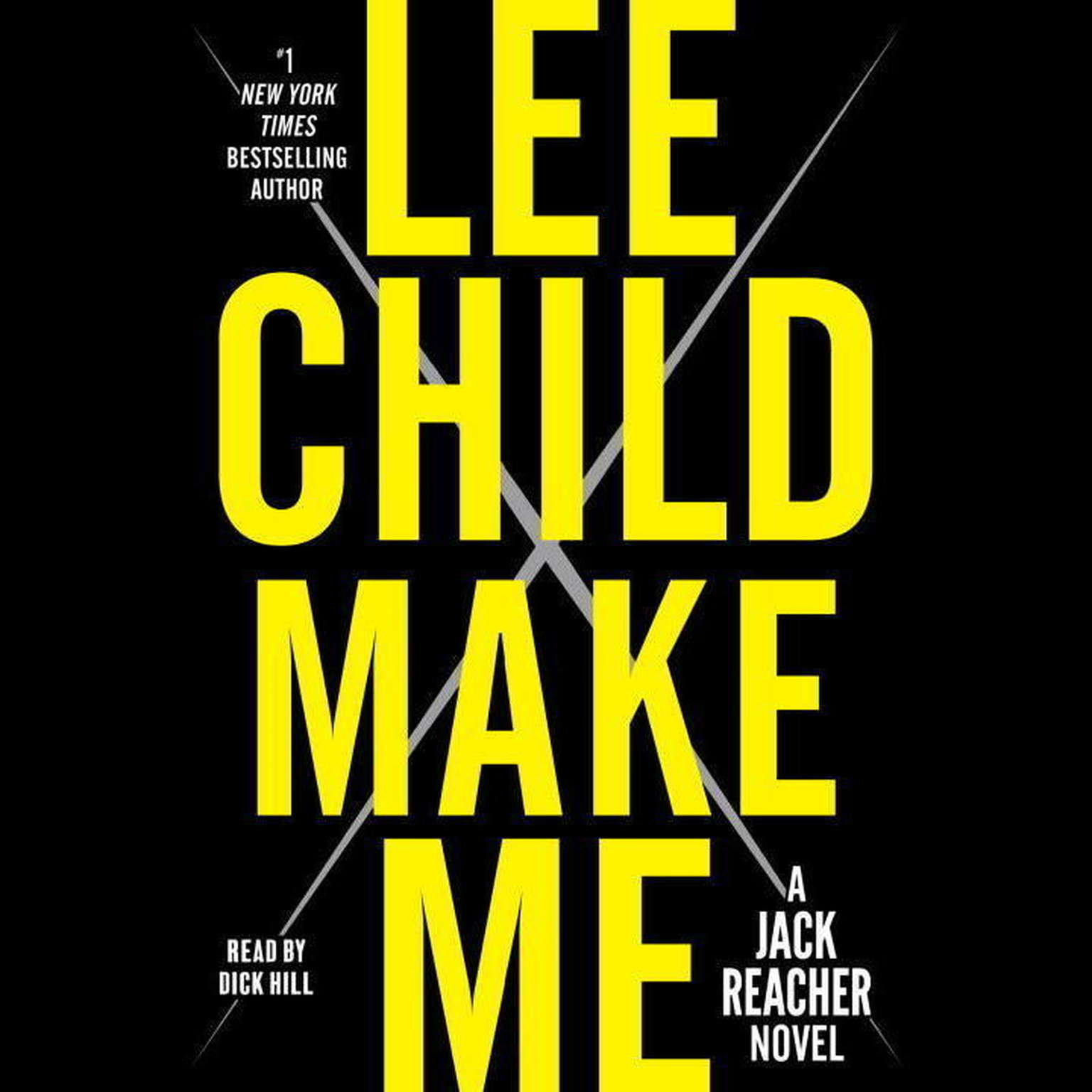 Printable Make Me: A Jack Reacher Novel Audiobook Cover Art