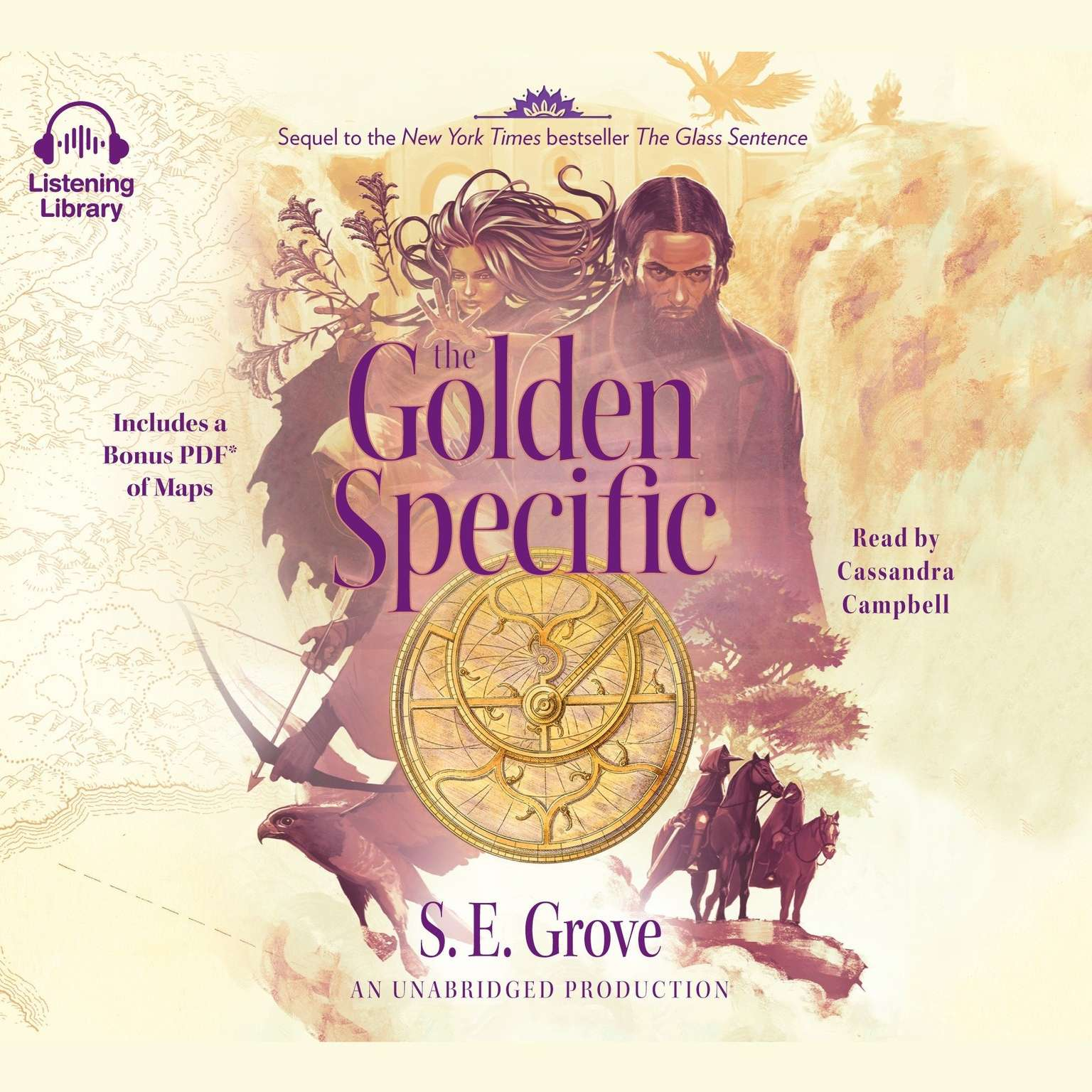 Printable The Golden Specific Audiobook Cover Art
