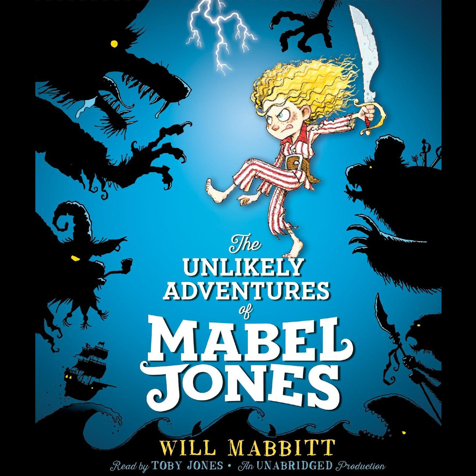 Printable The Unlikely Adventures of Mabel Jones Audiobook Cover Art
