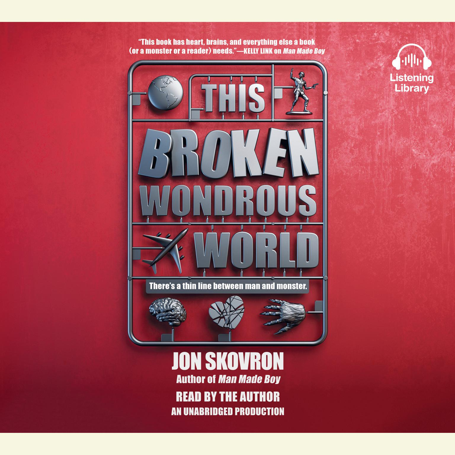 Printable This Broken Wondrous World Audiobook Cover Art