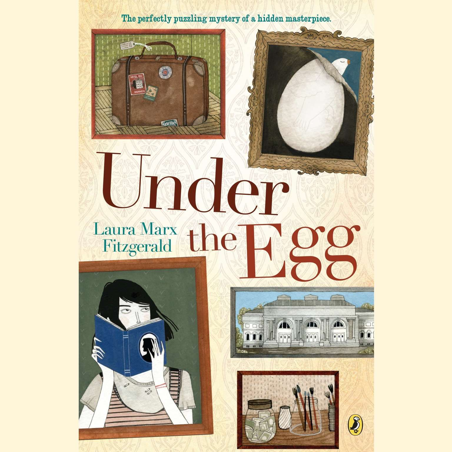 Printable Under the Egg Audiobook Cover Art