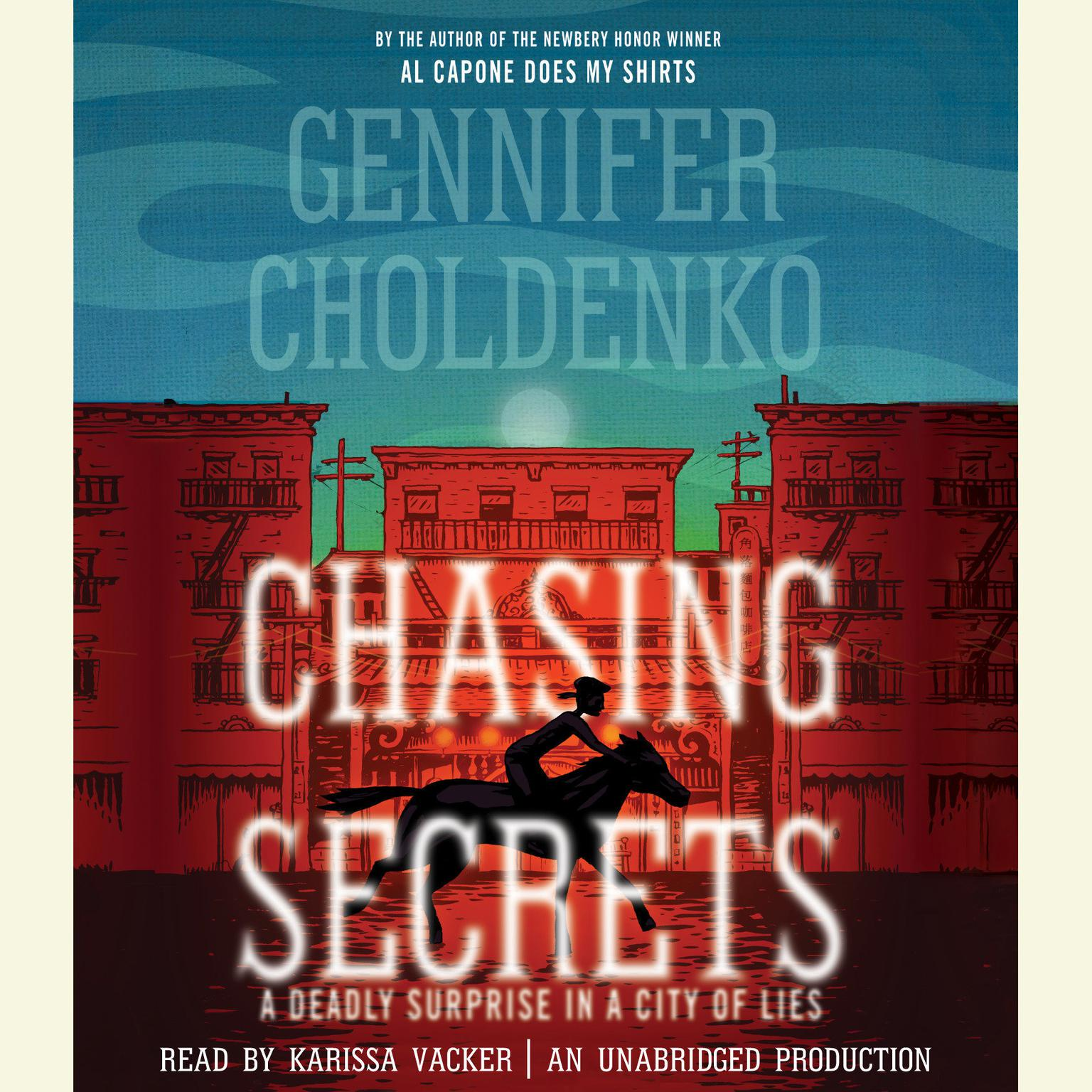 Printable Chasing Secrets Audiobook Cover Art