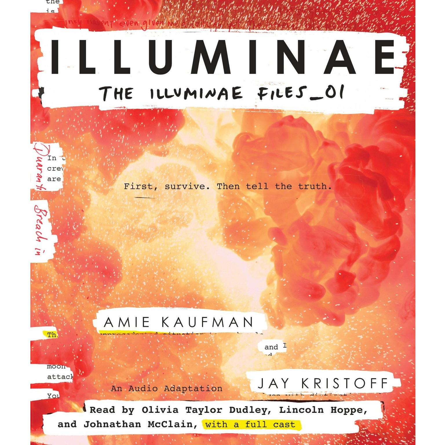 Printable Illuminae Audiobook Cover Art