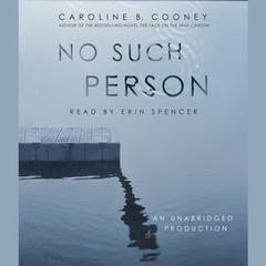 No Such Person Audiobook, by Caroline B. Cooney