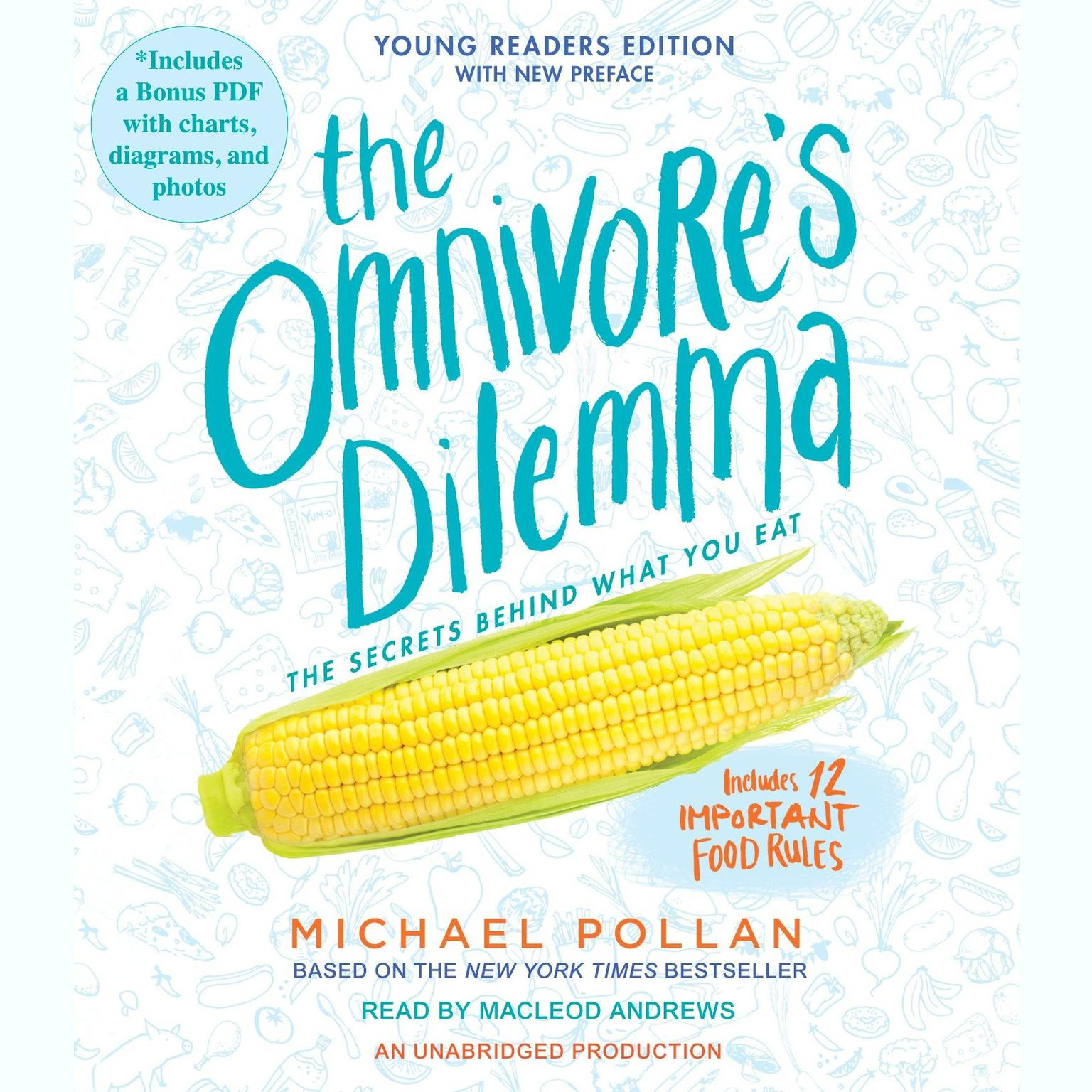 Printable The Omnivore's Dilemma: Young Readers Edition Audiobook Cover Art