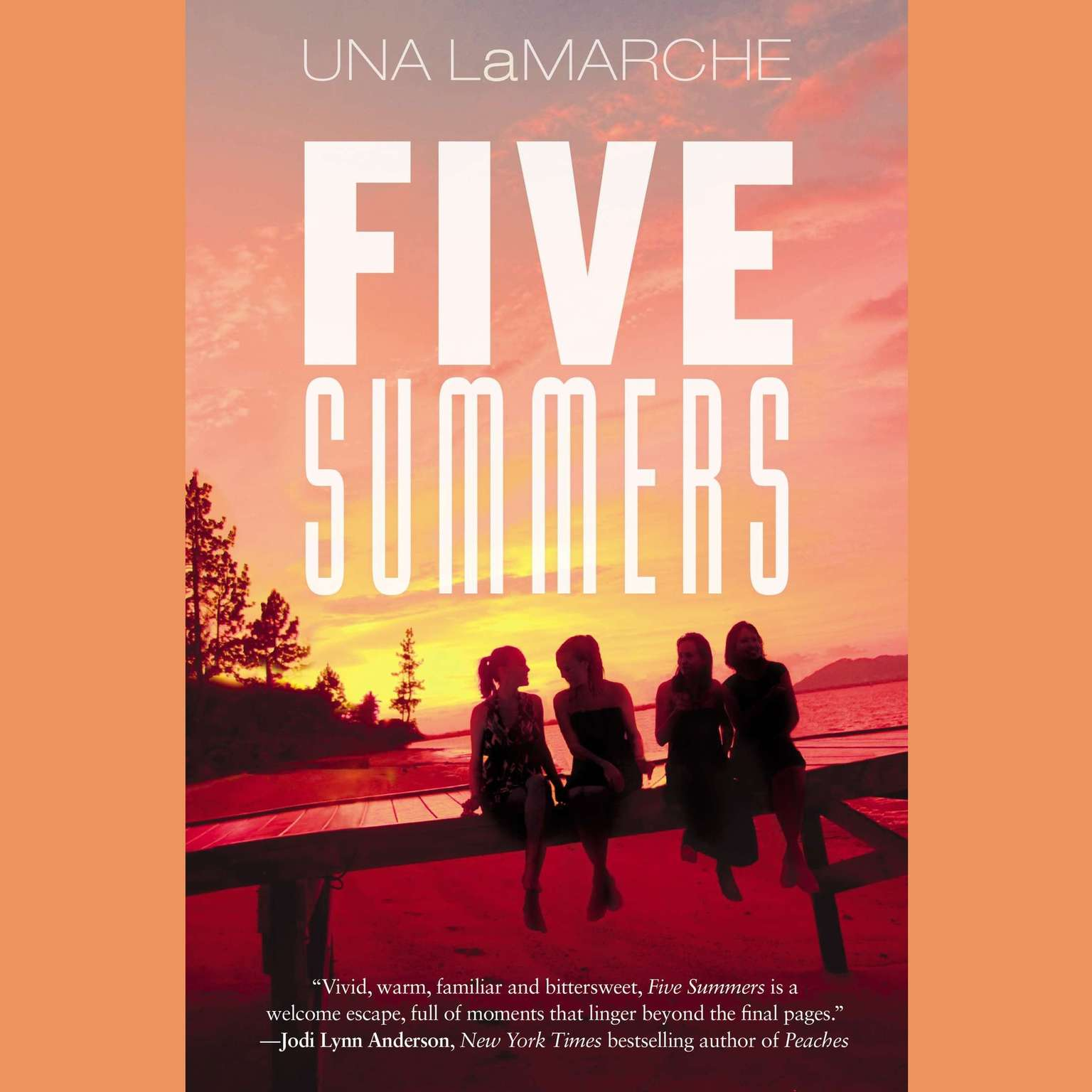 Printable Five Summers Audiobook Cover Art