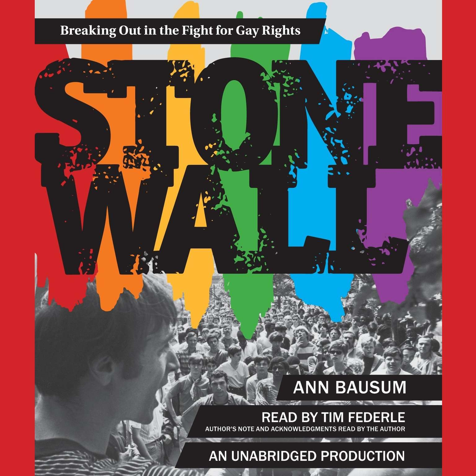 Printable Stonewall: Breaking Out in the Fight for Gay Rights Audiobook Cover Art