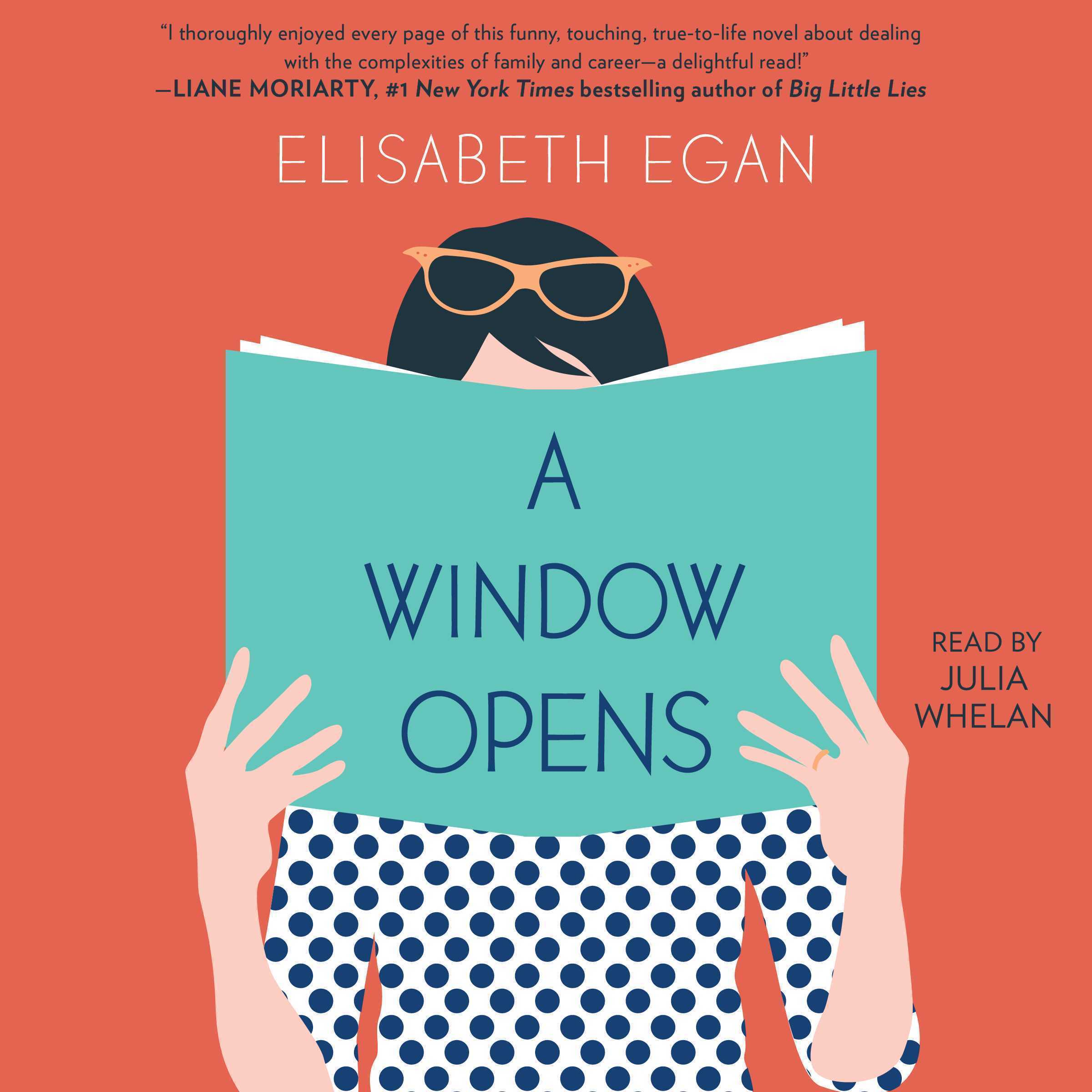 Printable A Window Opens: A Novel Audiobook Cover Art