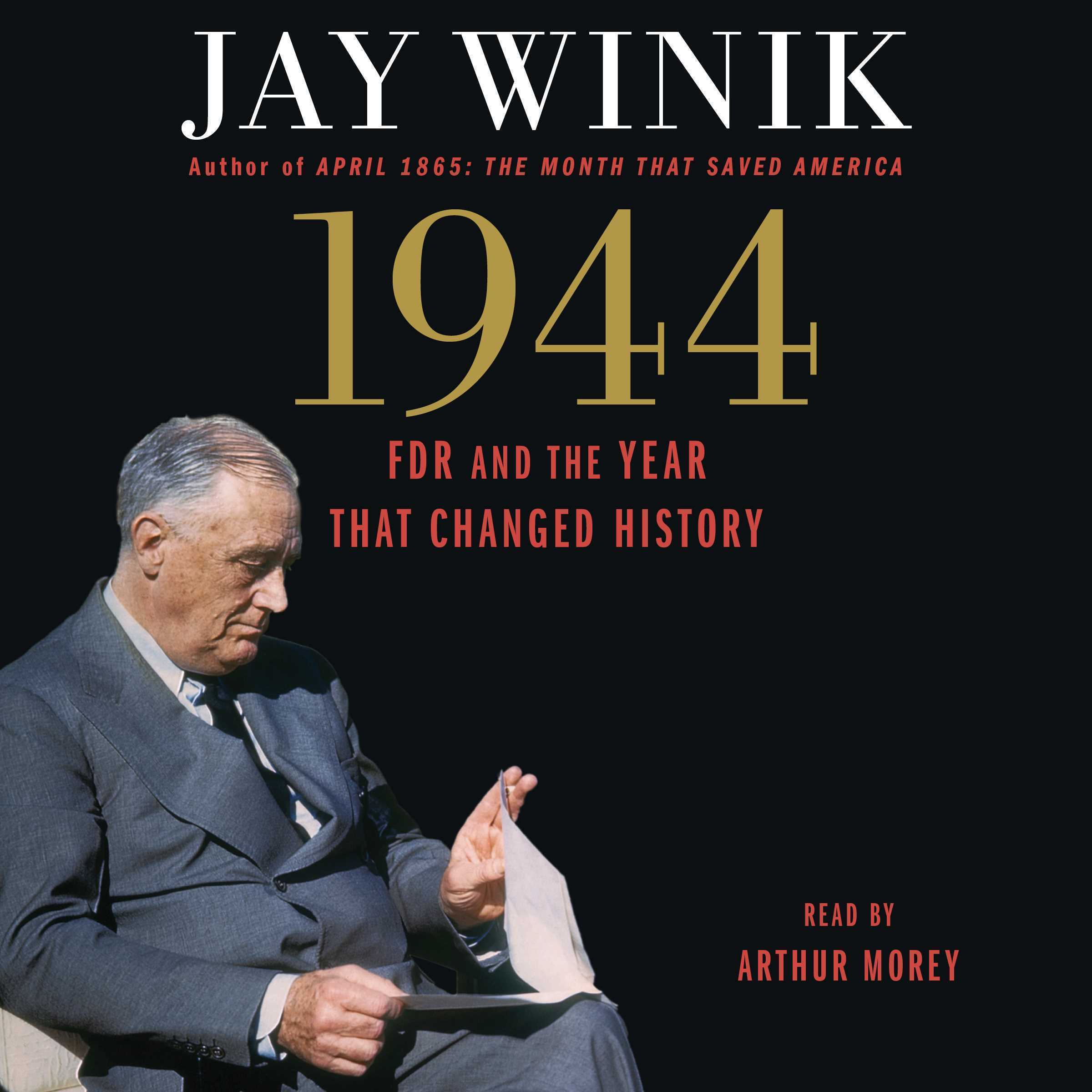 Printable 1944: FDR and the Year That Changed History Audiobook Cover Art