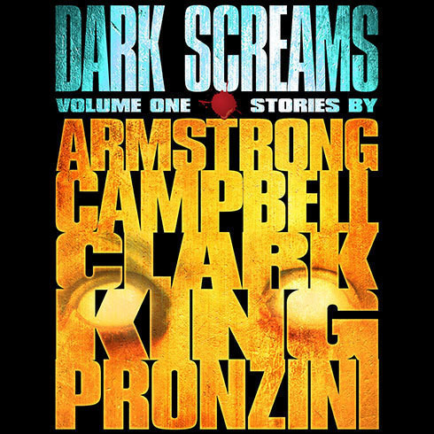 Printable Dark Screams, Volume One Audiobook Cover Art
