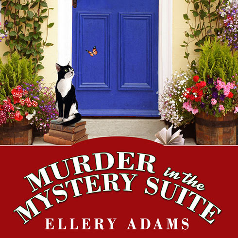 Printable Murder in the Mystery Suite Audiobook Cover Art