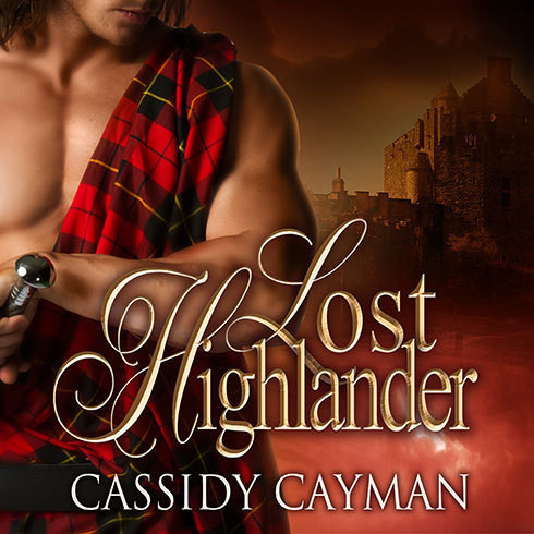 Printable Lost Highlander Audiobook Cover Art