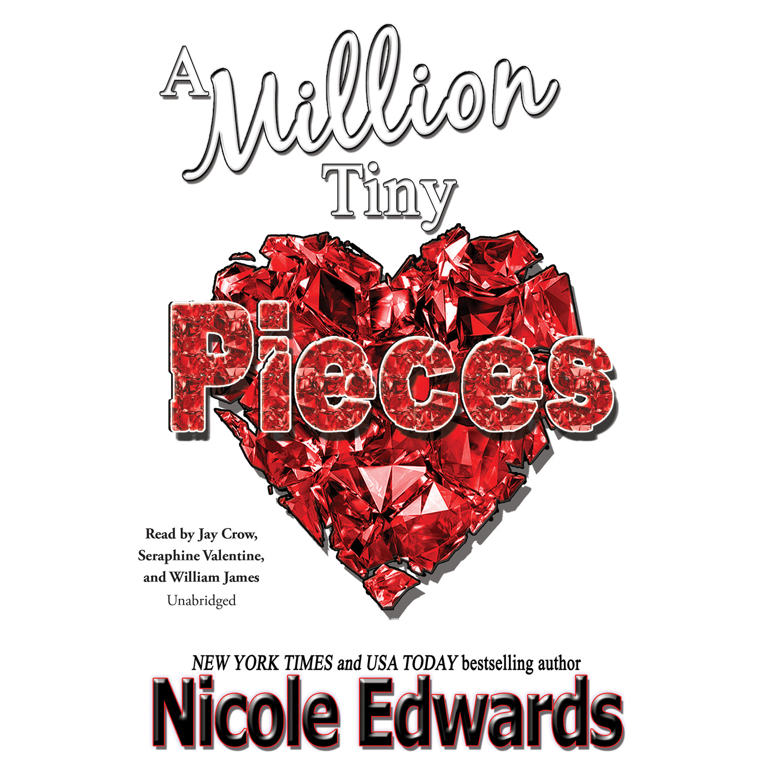 Printable A Million Tiny Pieces Audiobook Cover Art