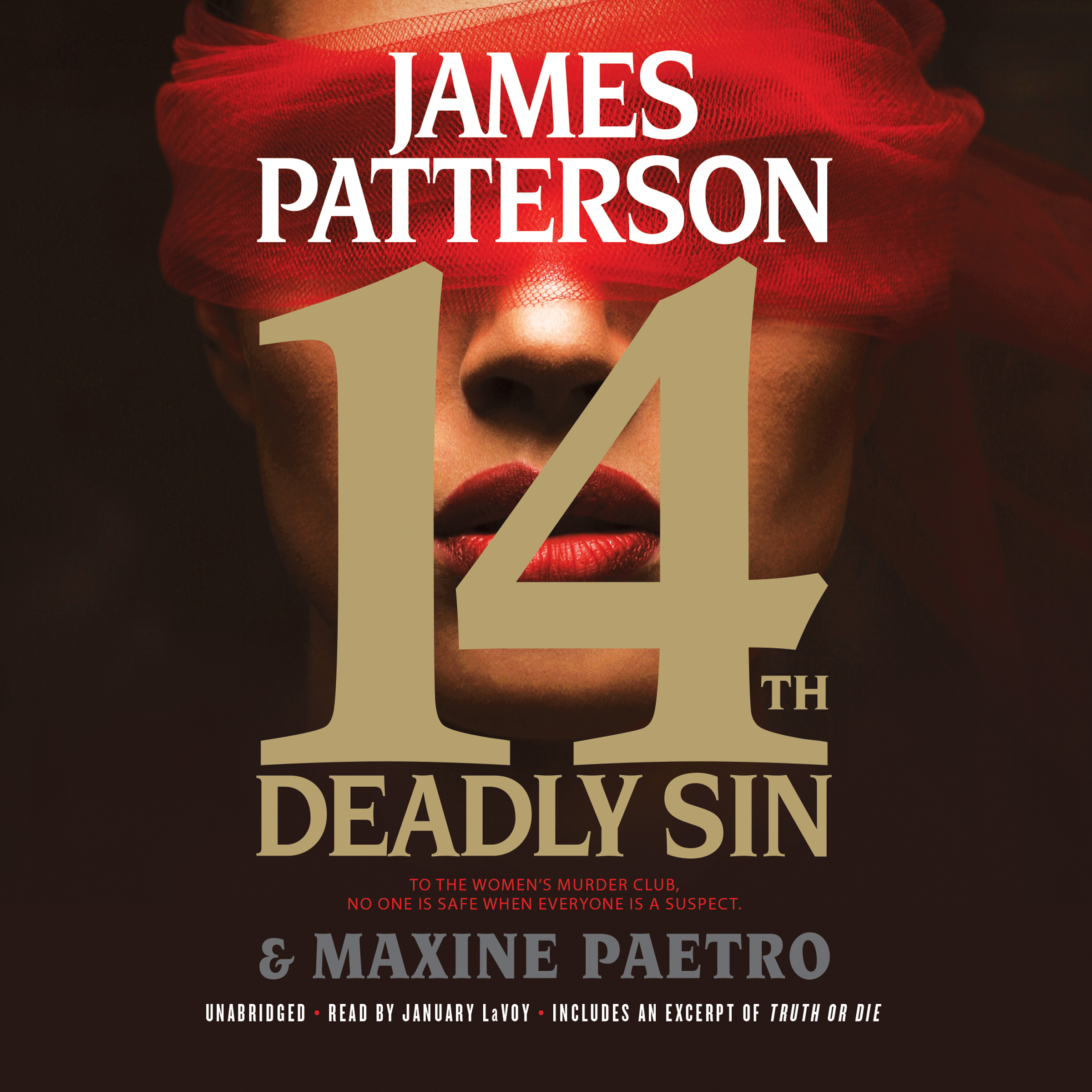 Printable 14th Deadly Sin Audiobook Cover Art