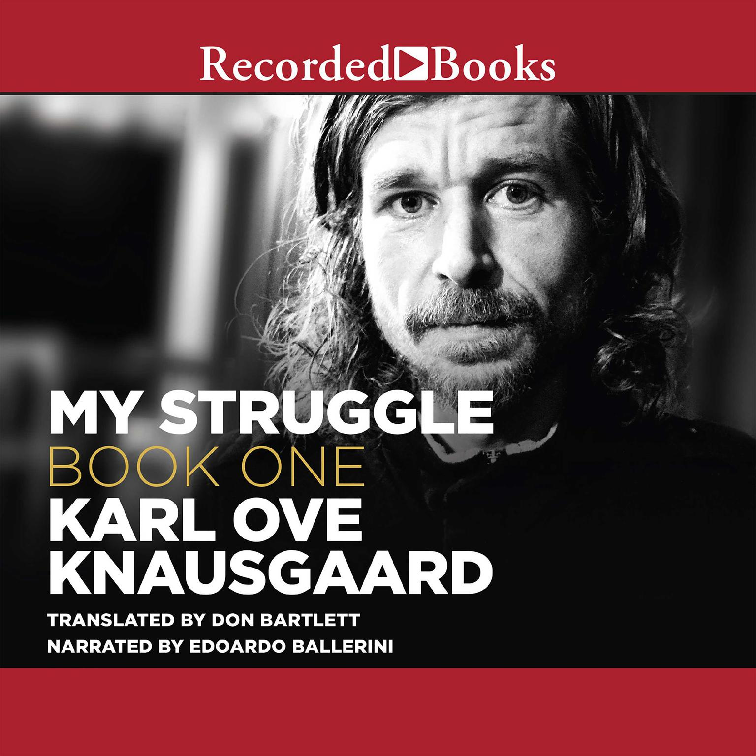 Printable My Struggle, Book One Audiobook Cover Art