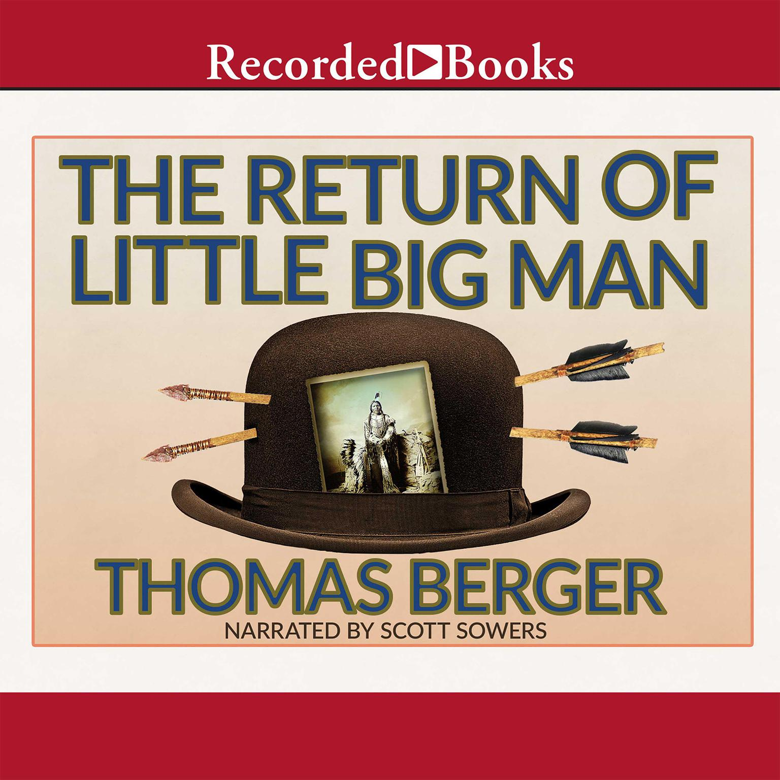 Printable The Return of Little Big Man: A Novel Audiobook Cover Art