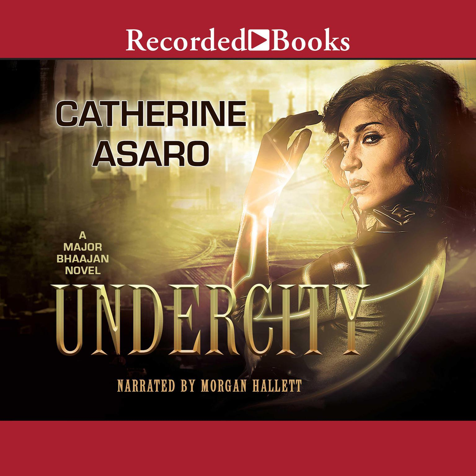 Printable Undercity Audiobook Cover Art