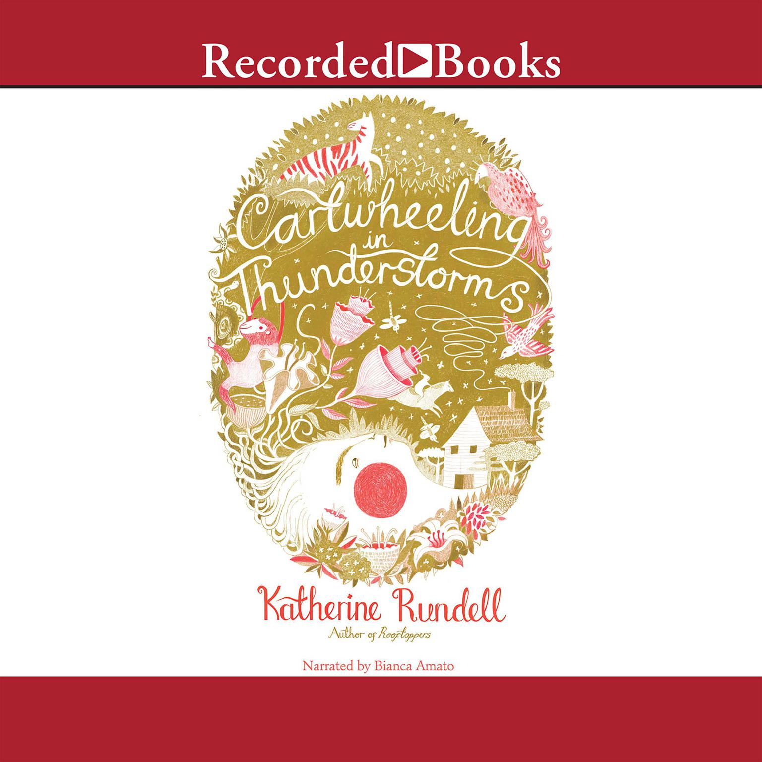 Printable Cartwheeling in Thunderstorms Audiobook Cover Art