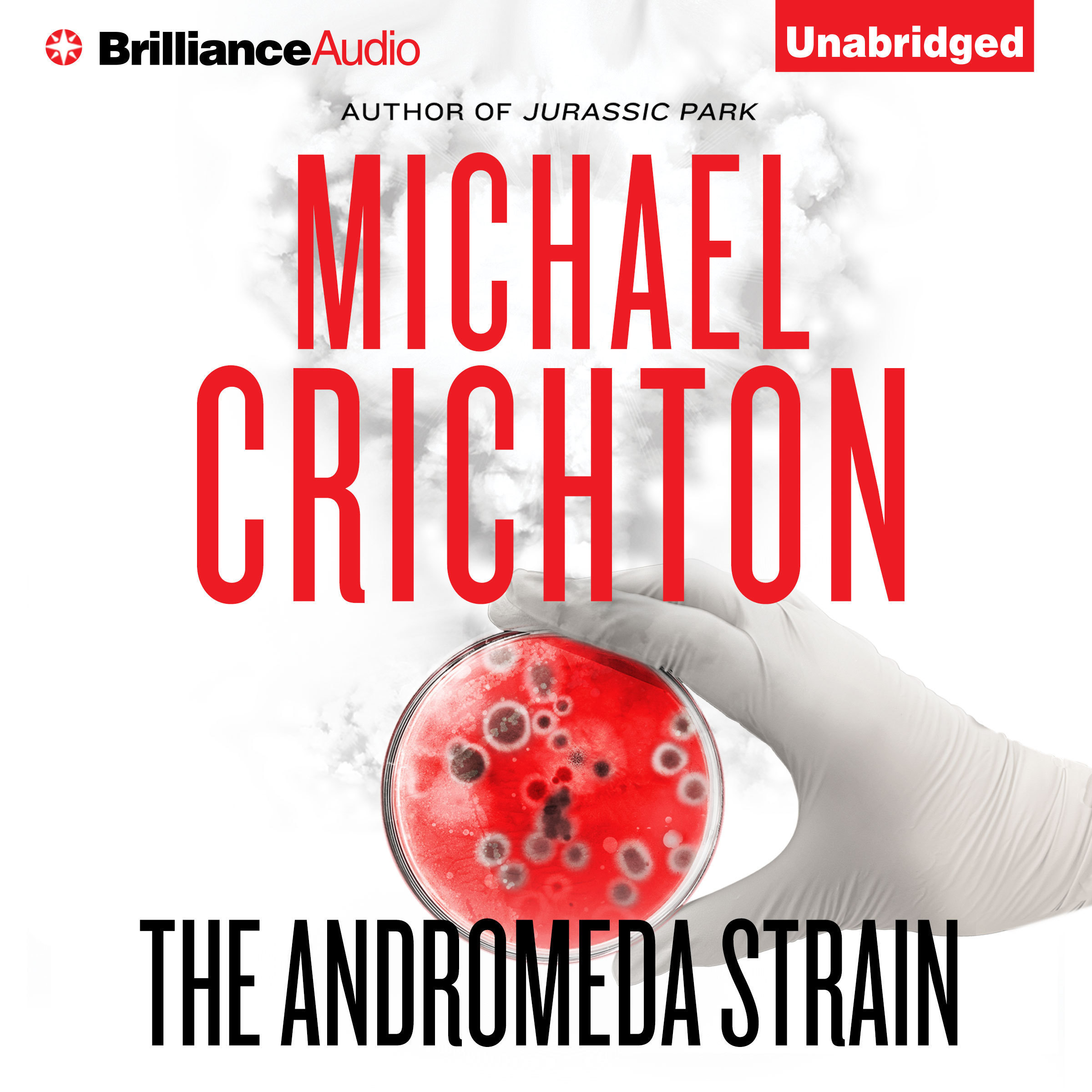 Printable The Andromeda Strain Audiobook Cover Art