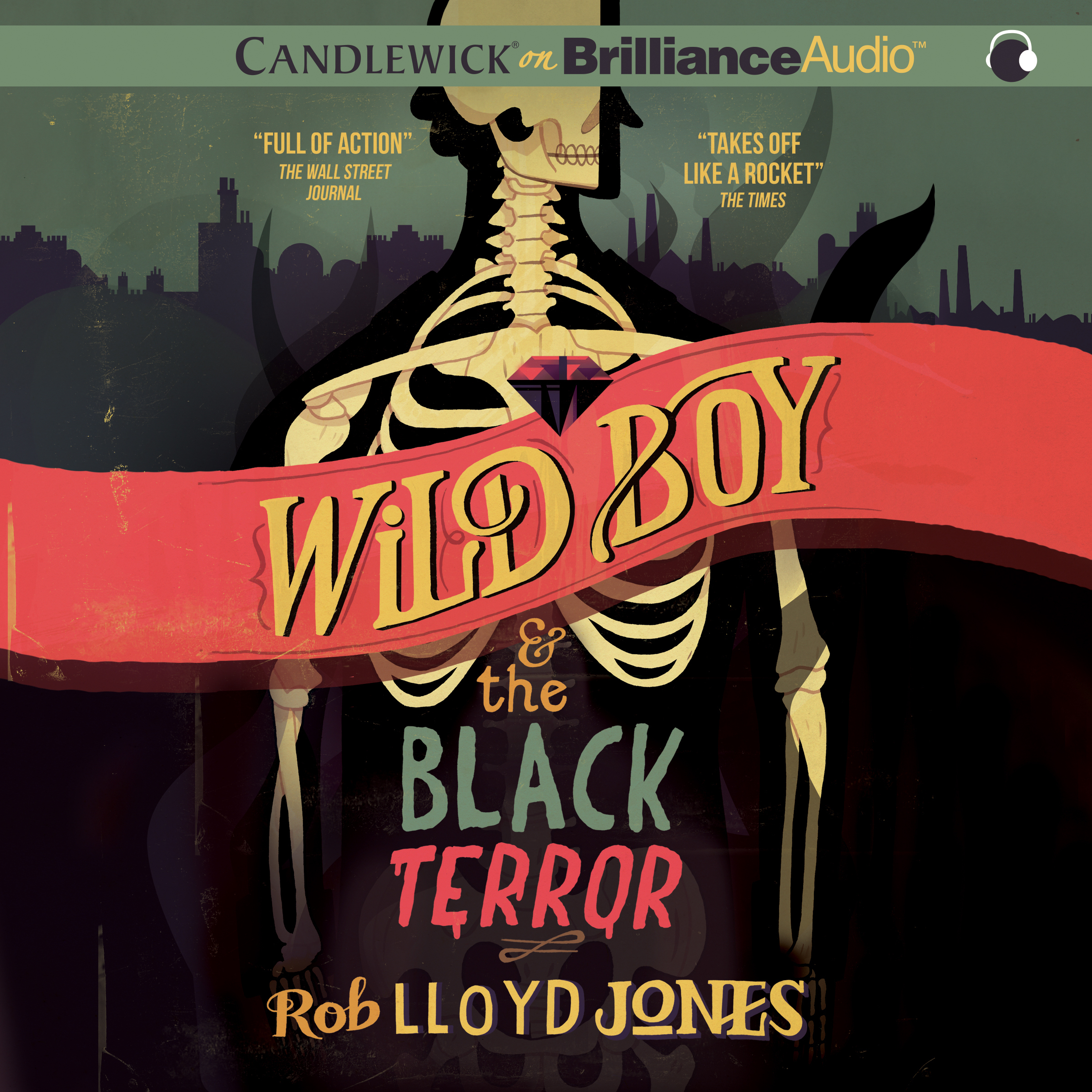 Printable Wild Boy and the Black Terror Audiobook Cover Art