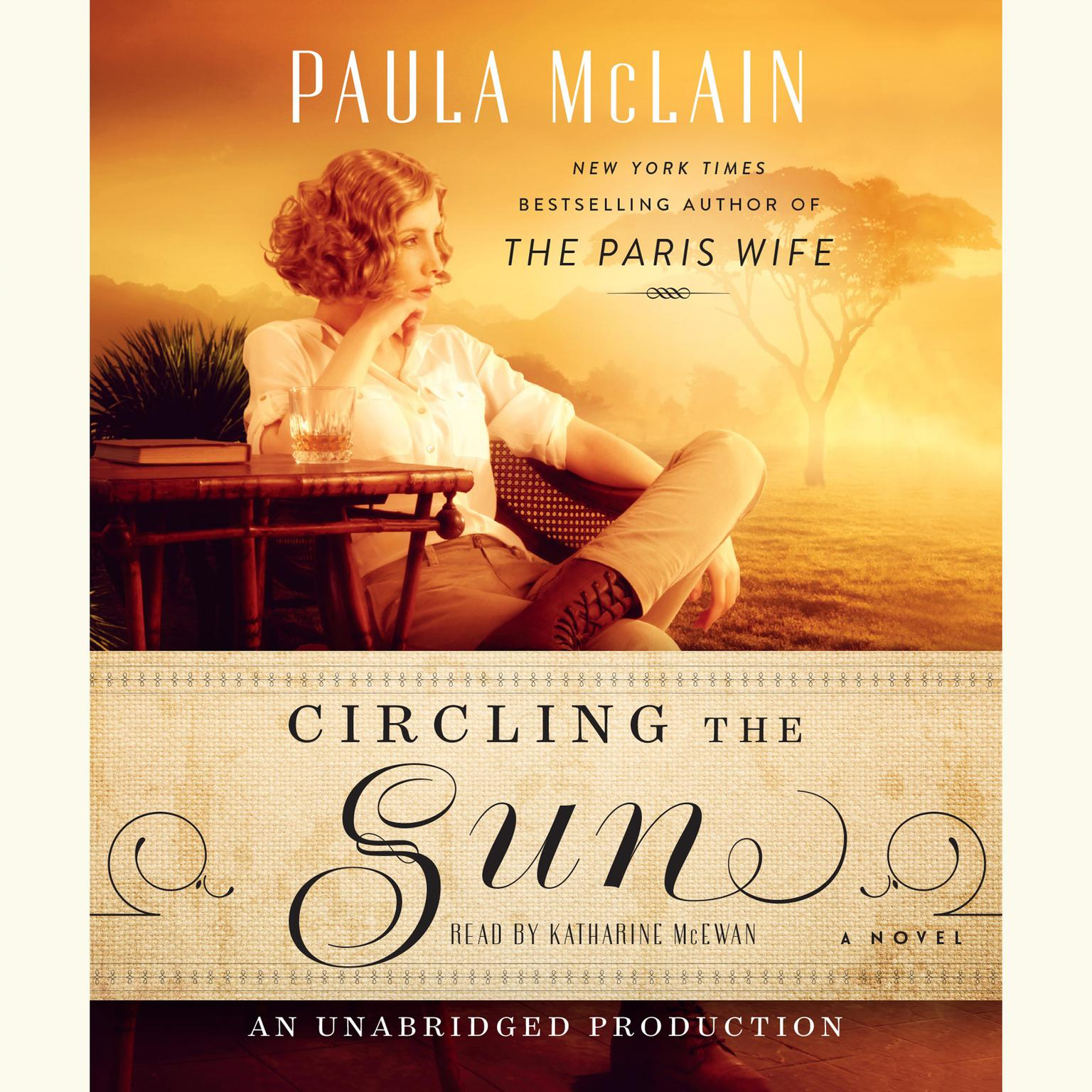 Printable Circling the Sun: A Novel Audiobook Cover Art