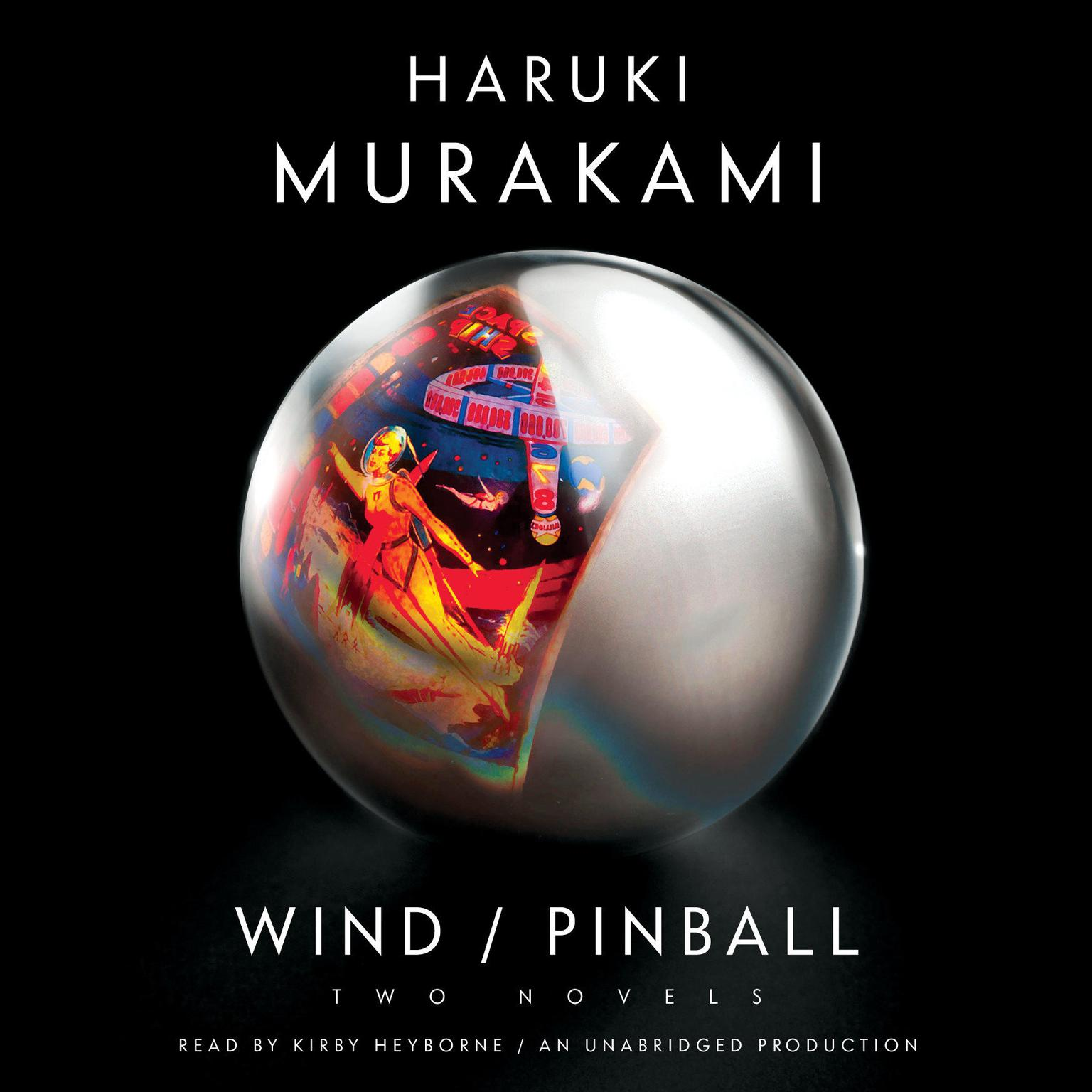 Printable Wind/Pinball: Two novels Audiobook Cover Art