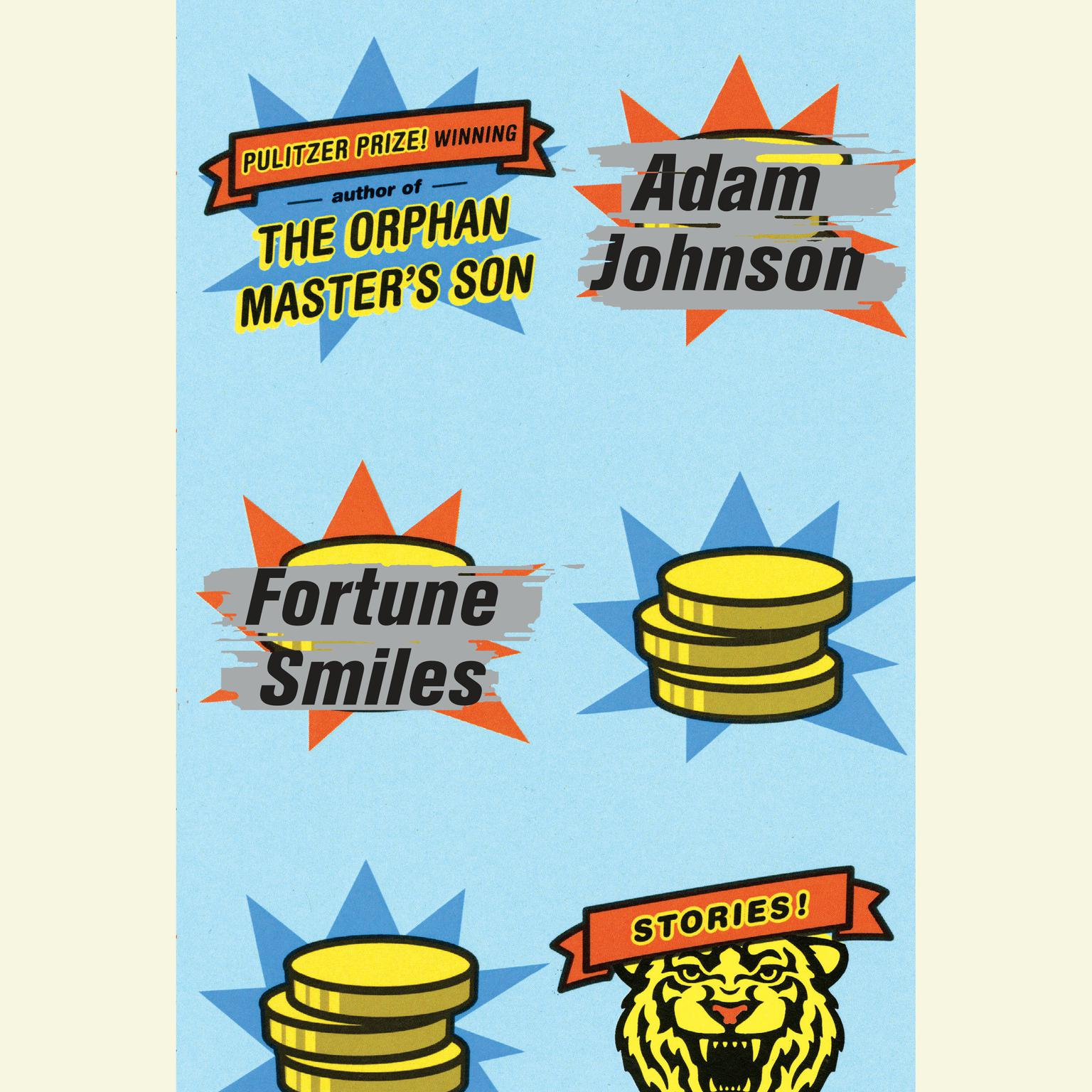 Printable Fortune Smiles: Stories Audiobook Cover Art