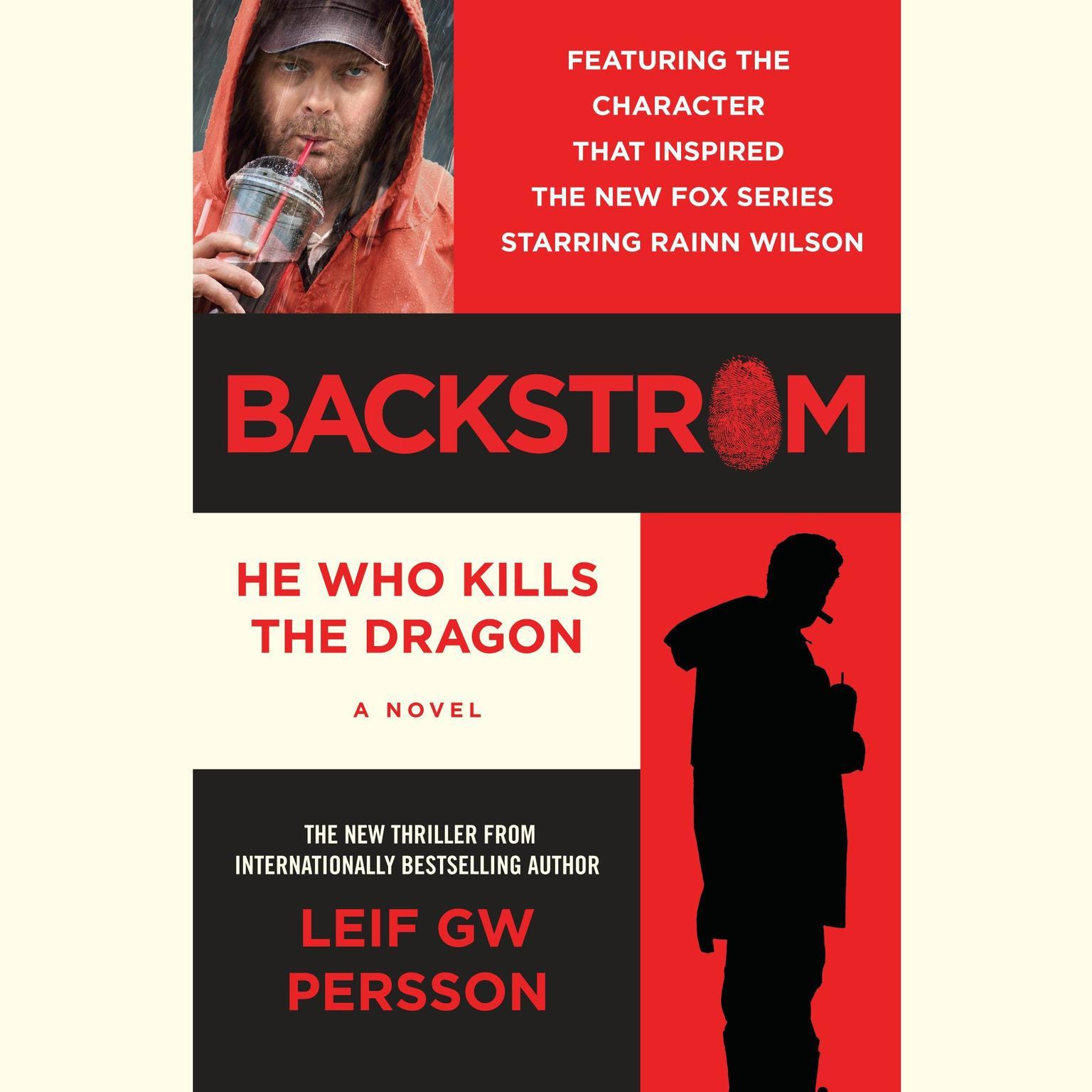 Printable Backstrom: He Who Kills the Dragon Audiobook Cover Art
