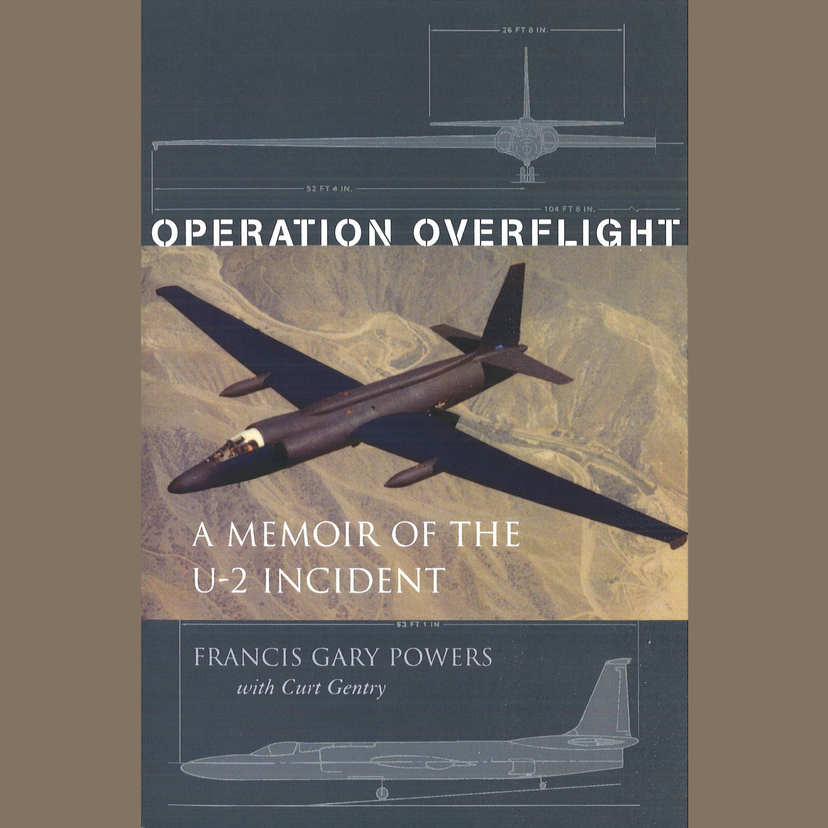 Printable Operation Overflight: A Memoir of the U-2 Incident Audiobook Cover Art