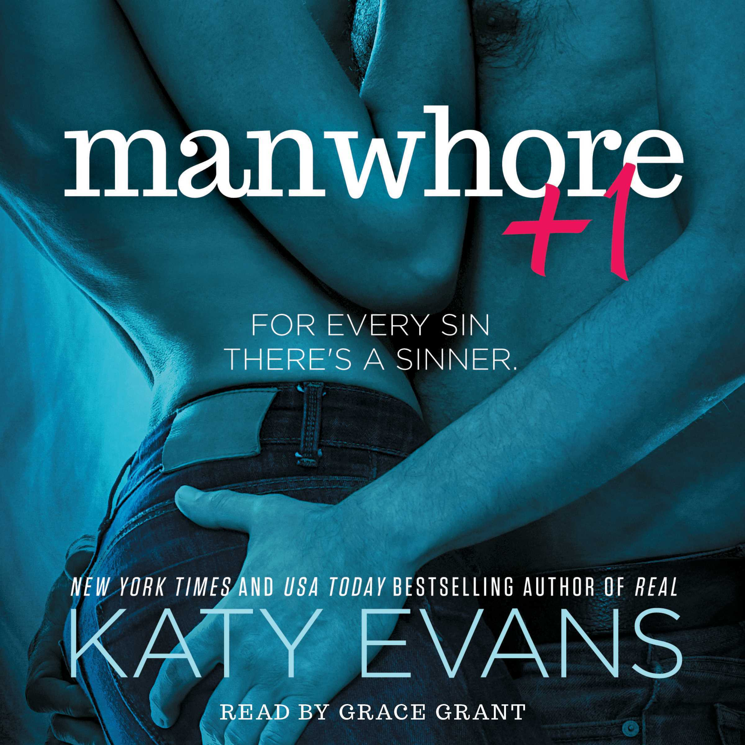 Printable Manwhore +1 Audiobook Cover Art