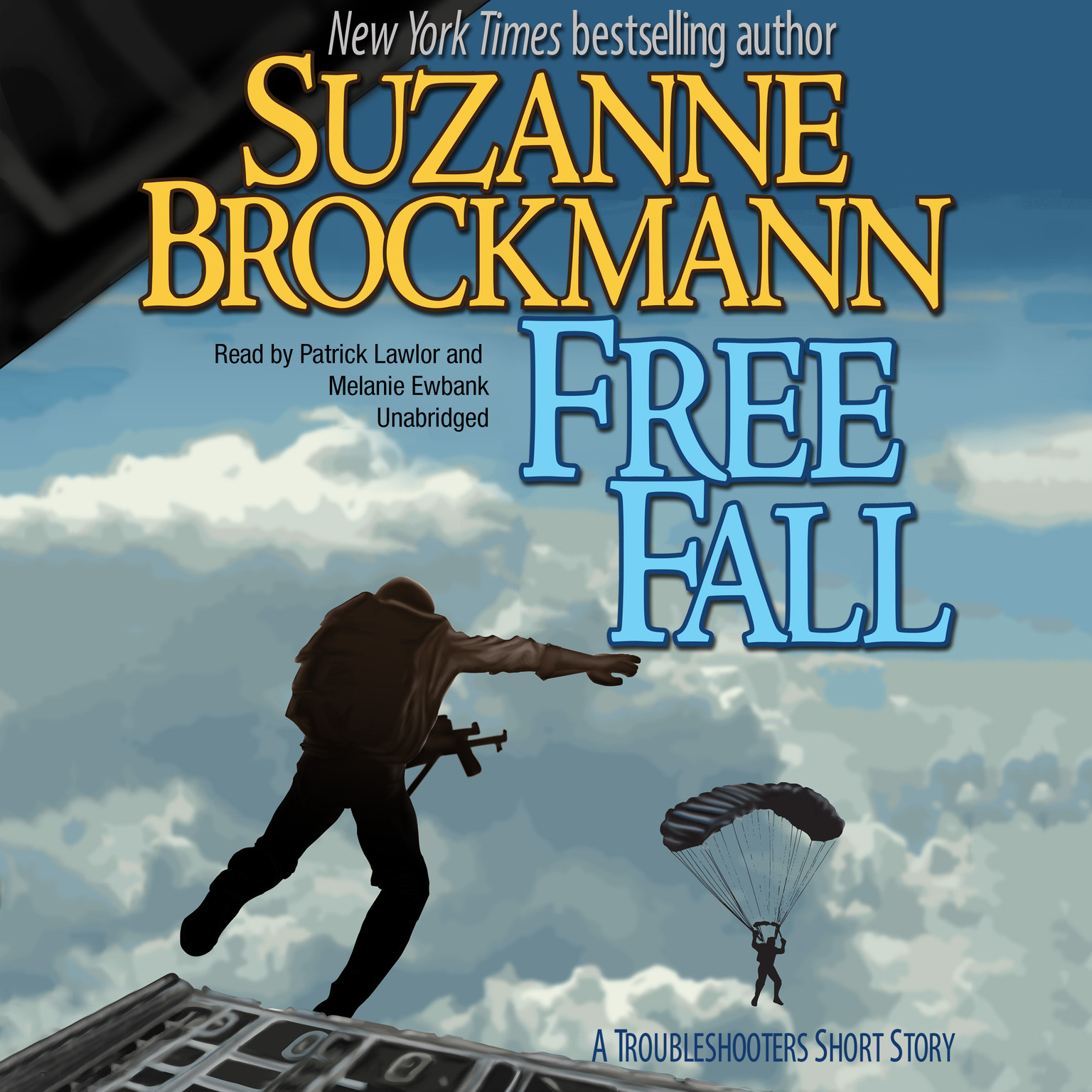 Printable Free Fall: A Troubleshooters Short Story Audiobook Cover Art