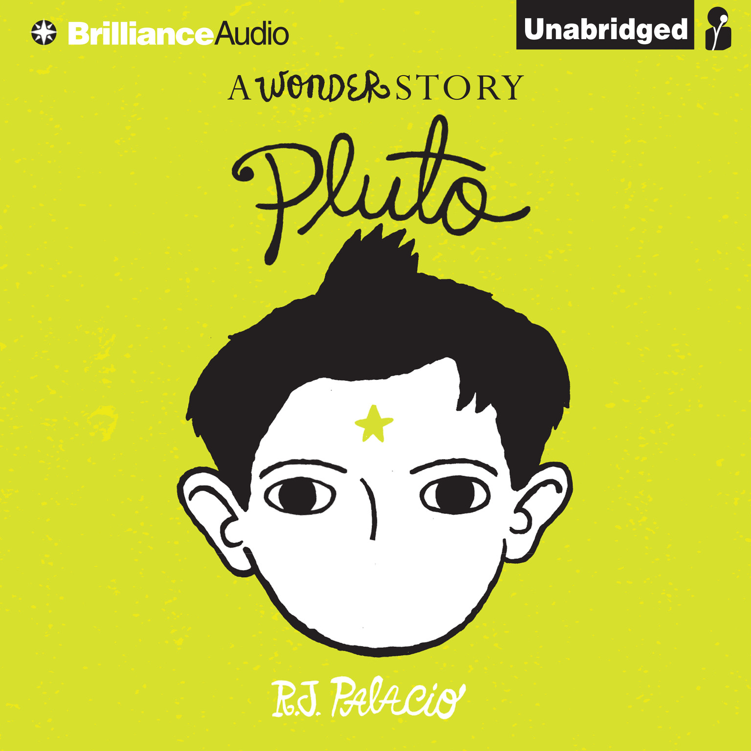 Printable Pluto: A Wonder Story Audiobook Cover Art
