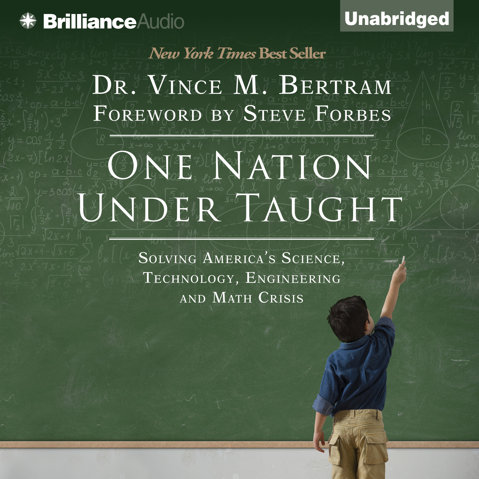 Printable One Nation Under Taught: Solving America's Science, Technology, Engineering & Math Crisis Audiobook Cover Art