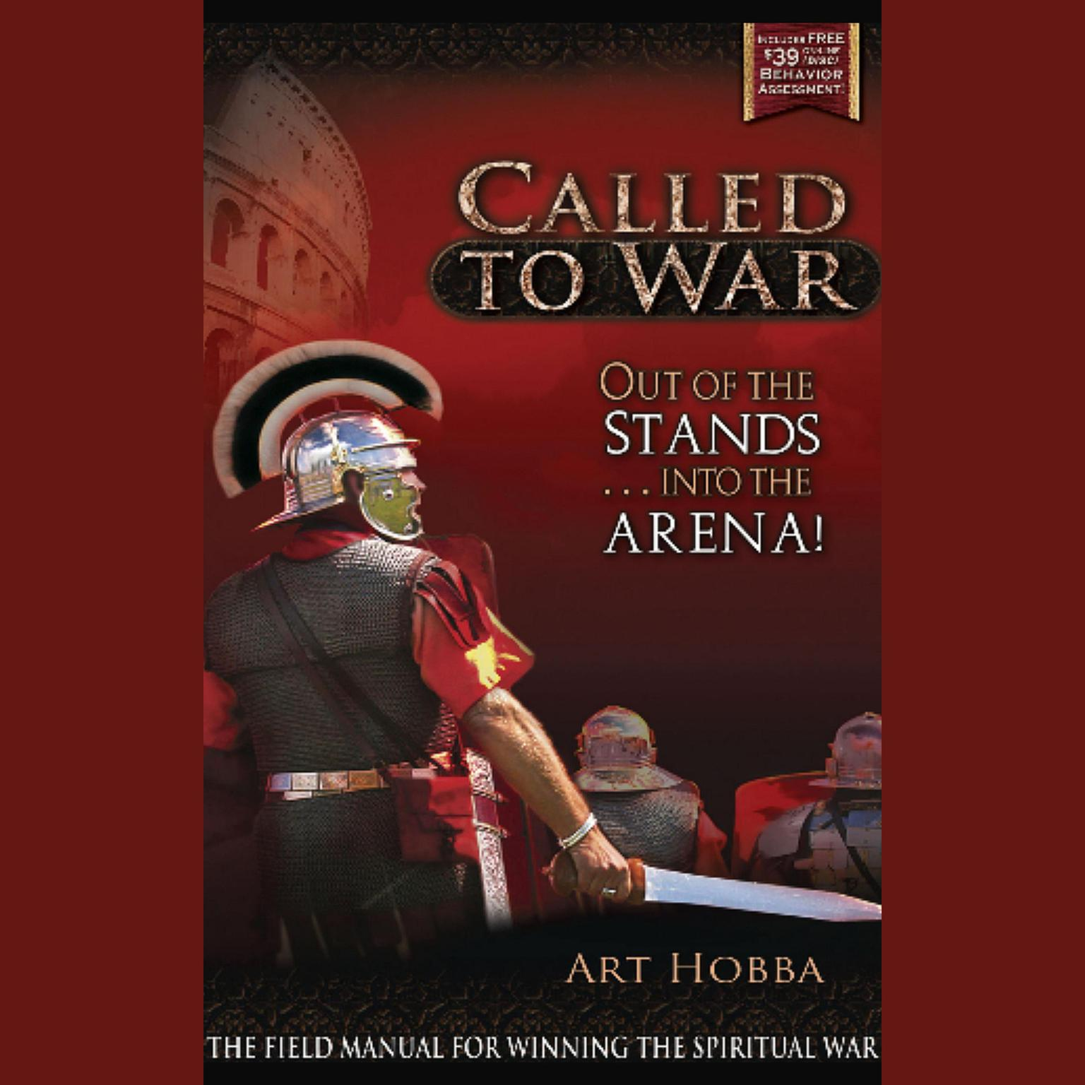 Printable Called to War: Out of the Stands … into the Arena Audiobook Cover Art