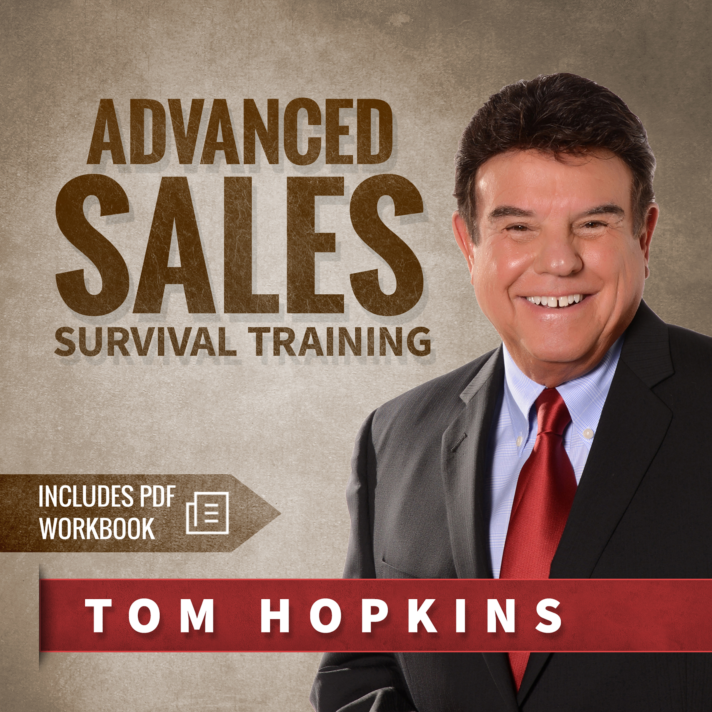 Printable Advanced Sales Survival Training Audiobook Cover Art